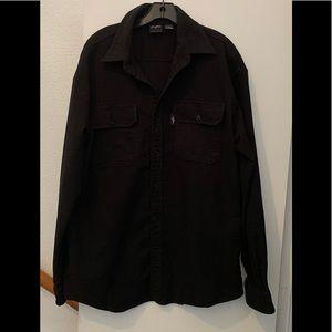 Sean John BLACK Shirt Jacket L